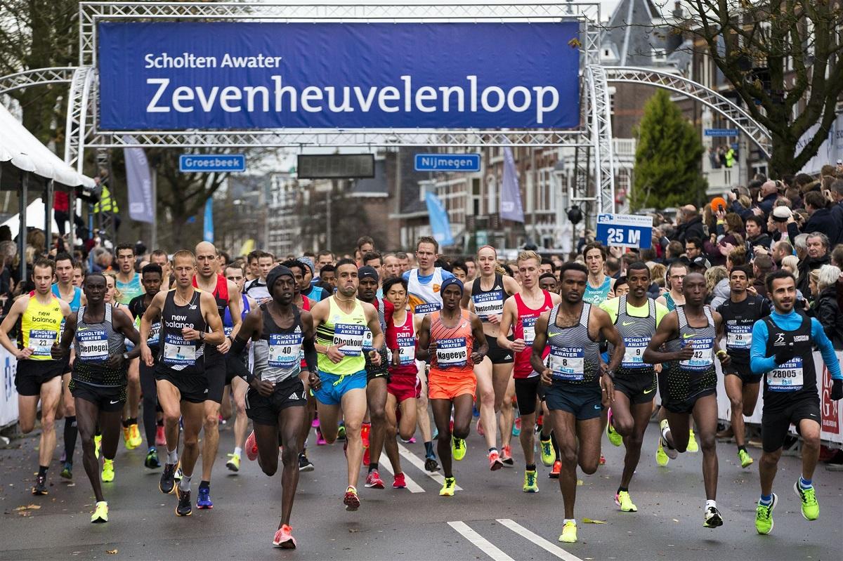 Zevenheuvelenloop in Nijmegen
