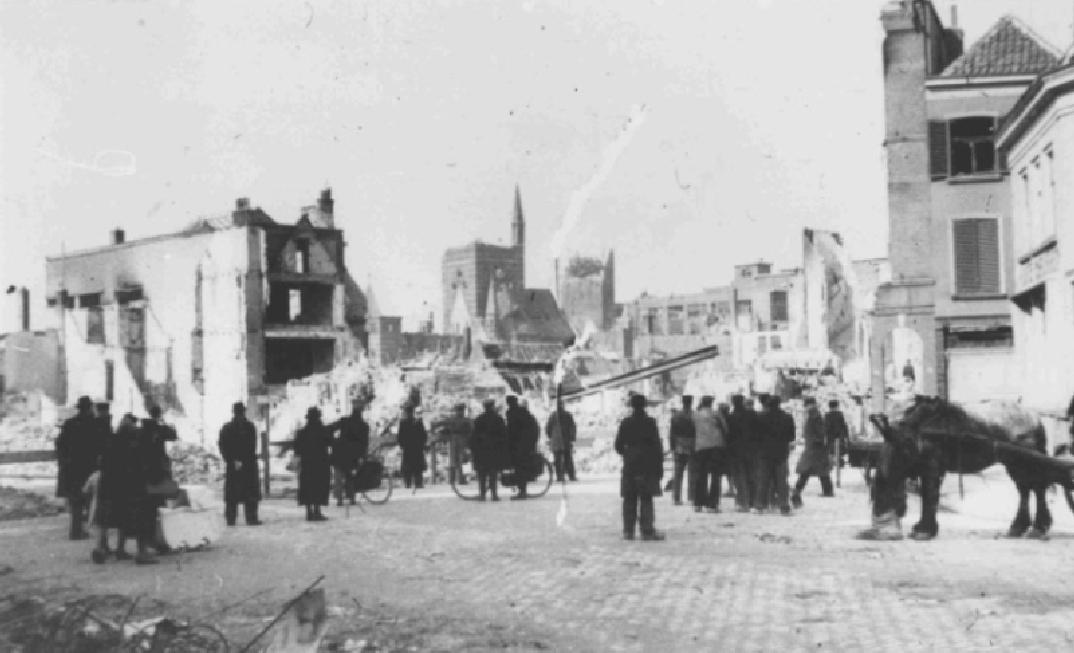 bombardement Nijmegen
