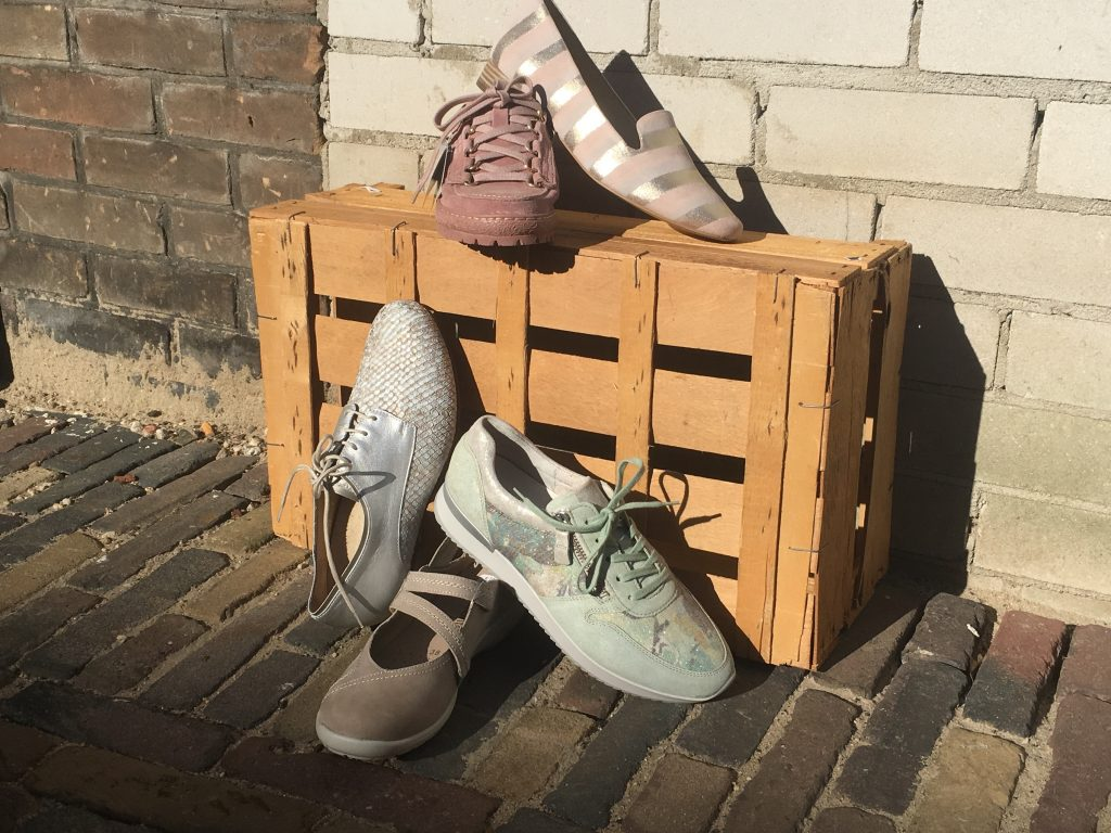Pastel schoenen