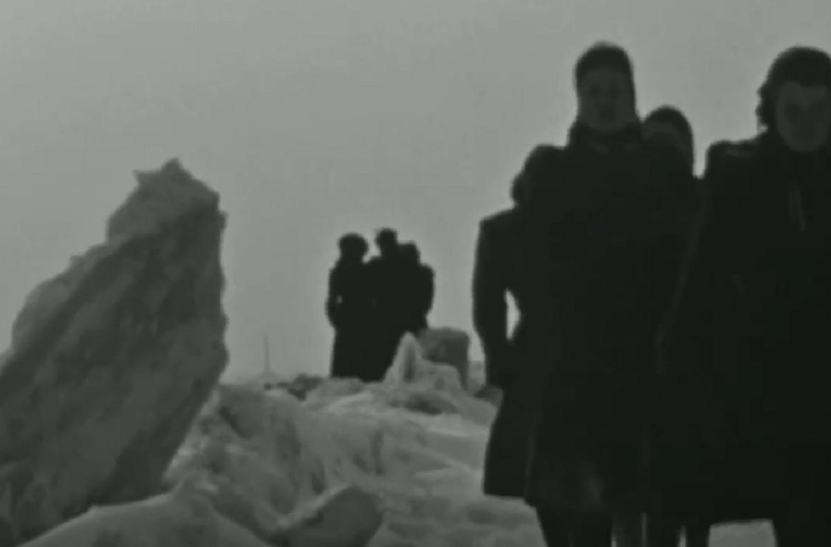 bevroren Waal