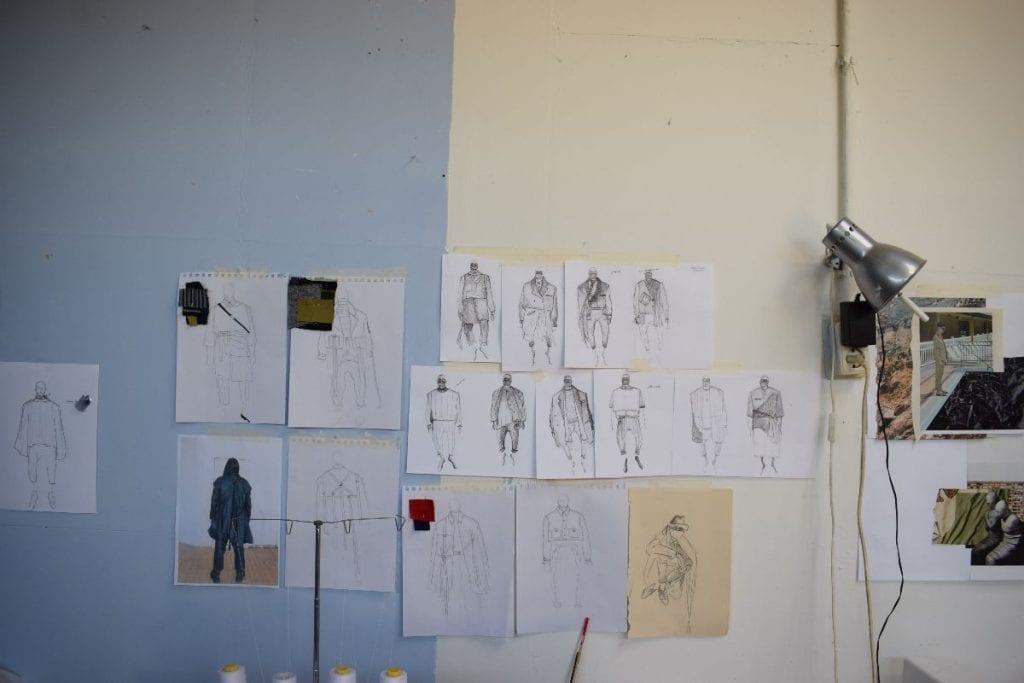 Het atelier van Sophie Roumans (foto: indebuurt Nijmegen)