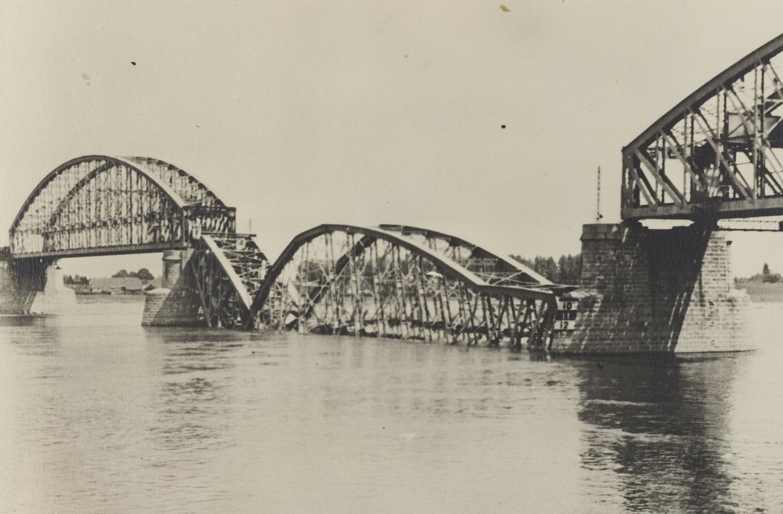 meidagen 1940 spoorbrug