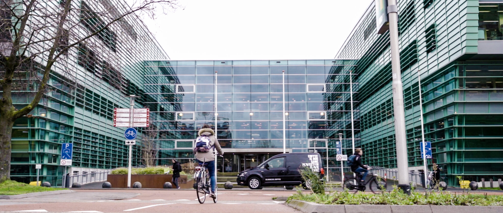 Blommers in Universiteit Nijmegen