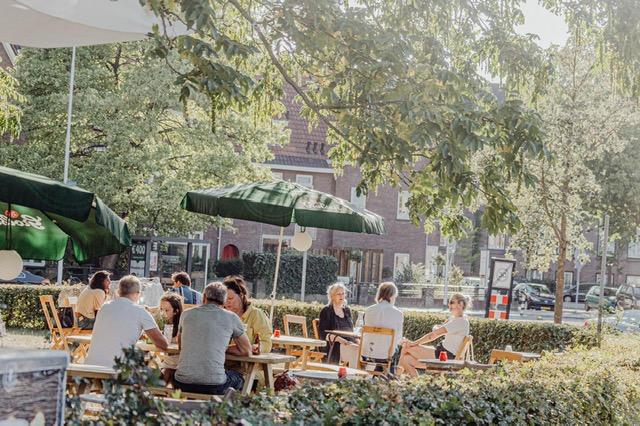 terrassen in Nijmegen