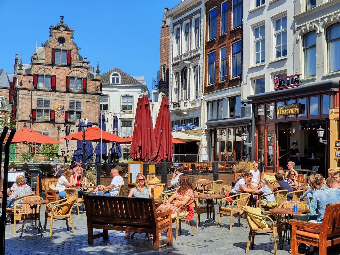 het weer in september in Nijmegen