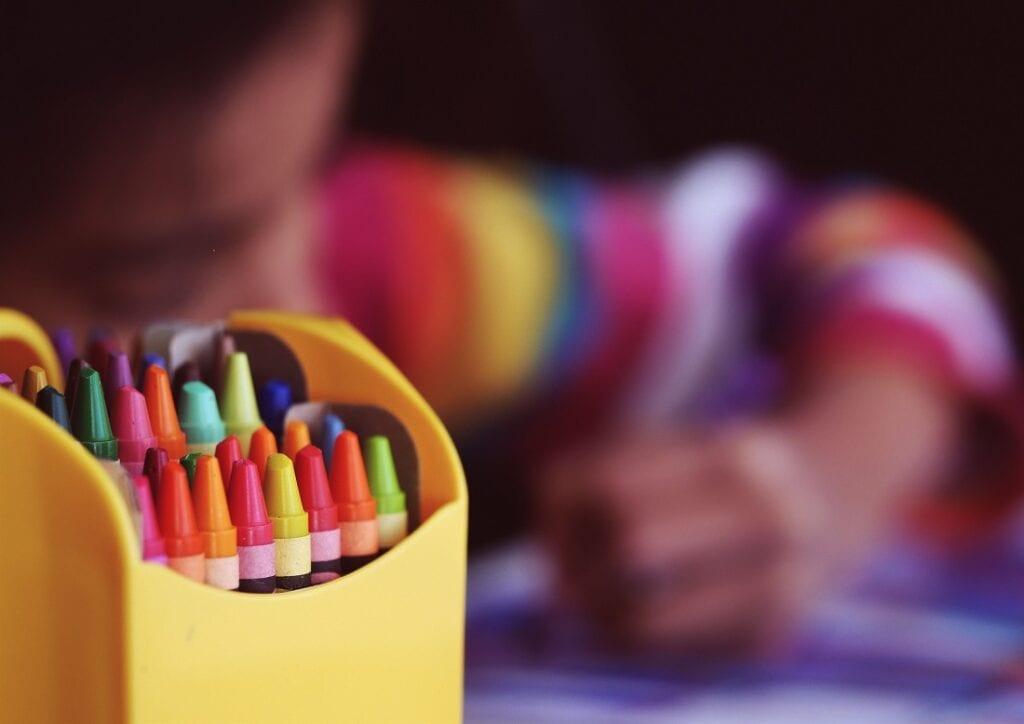 potloden kleuren kinderen