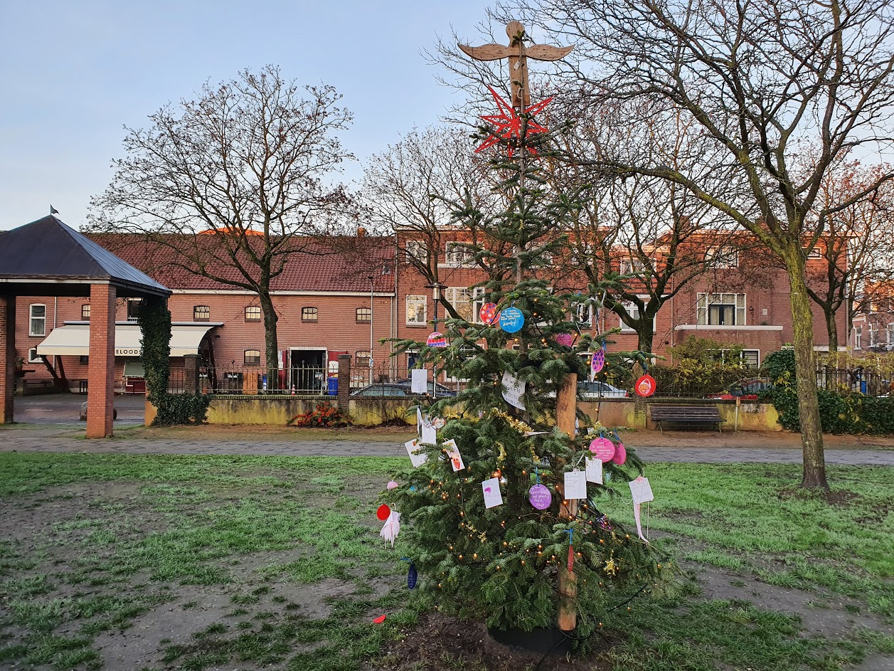 kerstboom thiemepark