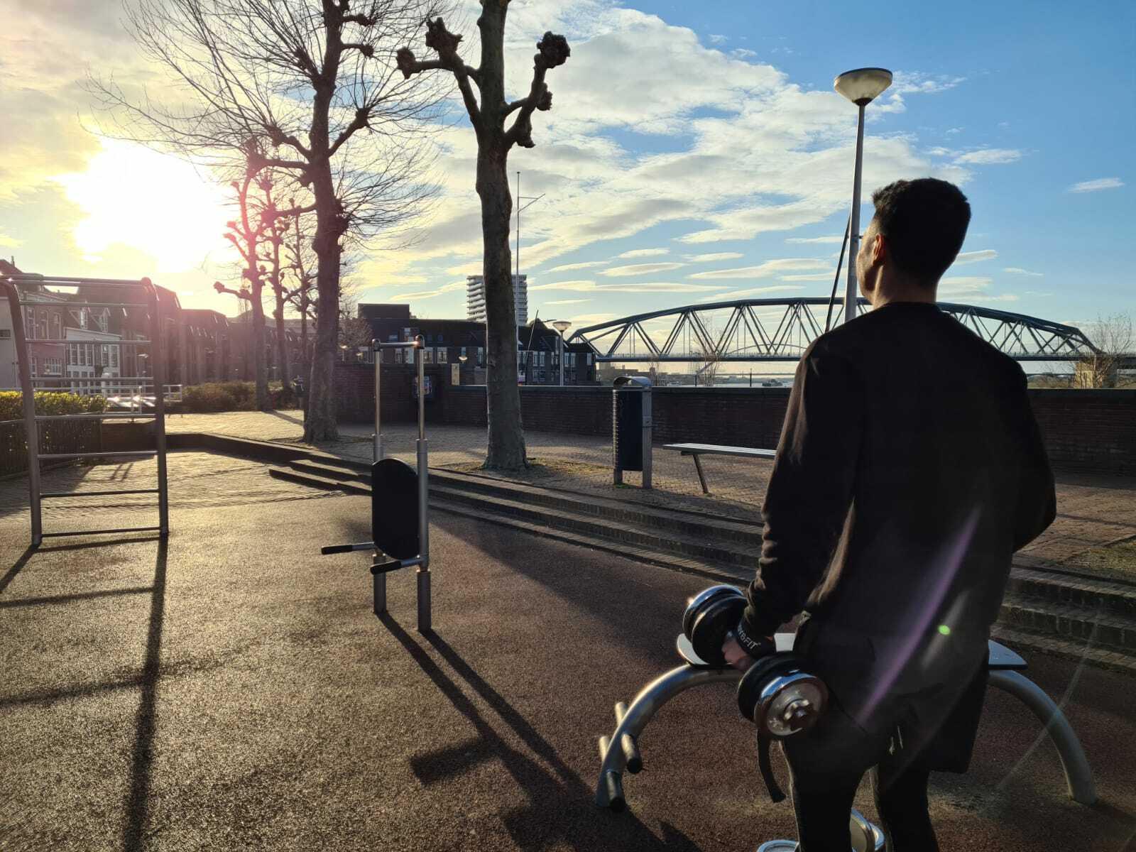 sporten lockdown Nijmegen