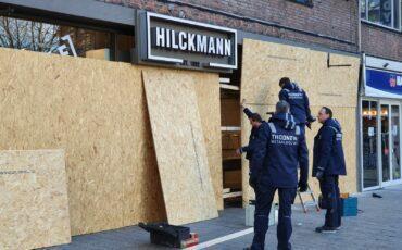 Coronaprotest en rellen in Nijmegen