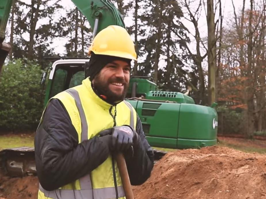 Opgravingen Goffertpark