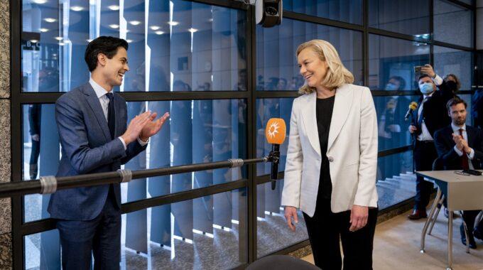 d66 sigrid kaag rob jetten verkiezingen tweede kamer