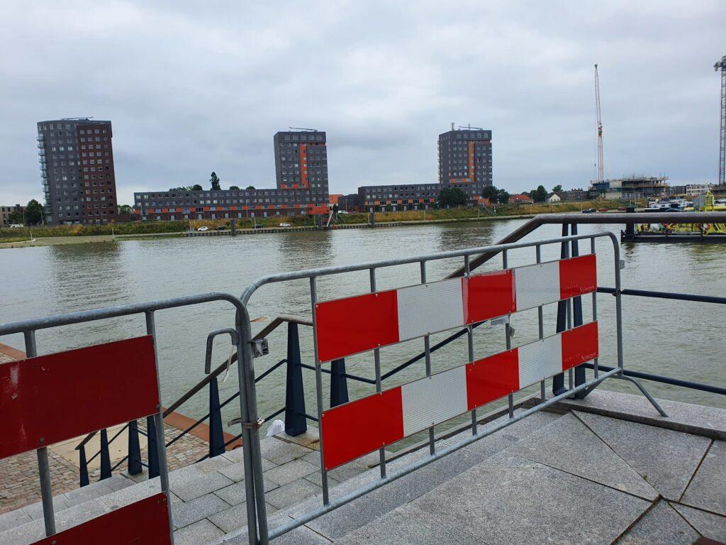 Hoogwater Nijmegen zomer