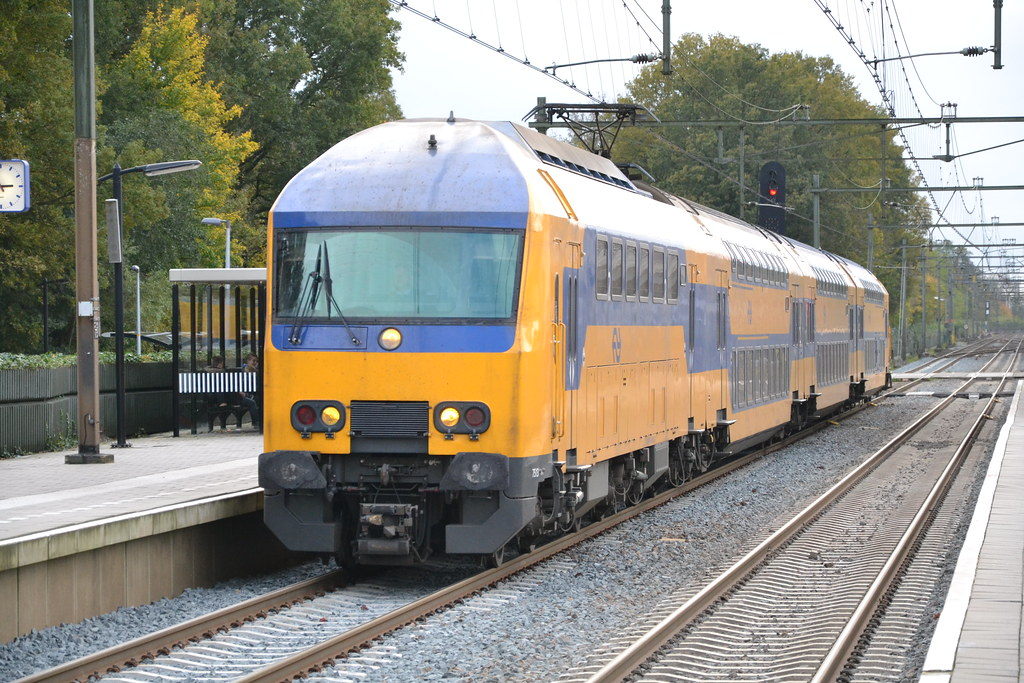 trein traject harderwijk - amersfoort putten treinen