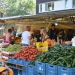 marktkraam Sariaslan weekmarkt in Harderwijk