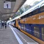 Station Harderwijk. spitstreinen harderwijk