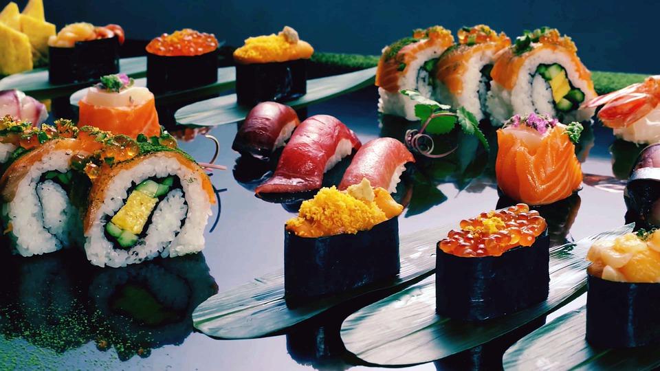 Sushi in Harderwijk Ermelo en Putten. Afbeelding Pixabay