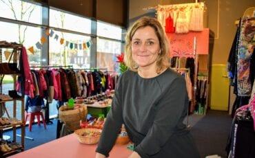 Berith Stijfhoorn in haar winkel Beer en Bo.
