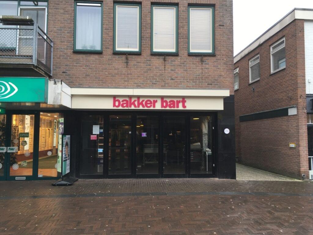 Bakker Bart in Ermelo permanent gesloten en dicht 03eenenveertig kledingwinkel