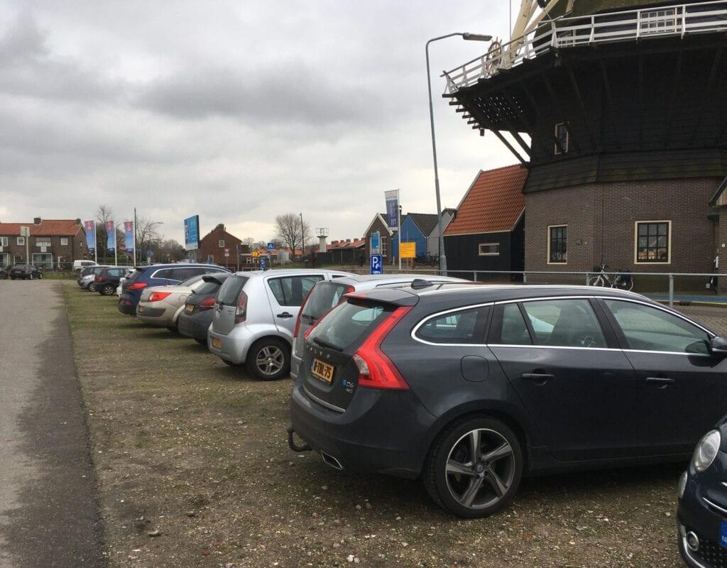 Parkeerplaats P2 in Harderwijk