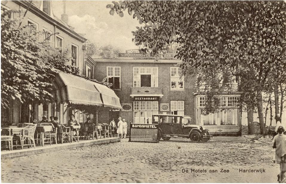 oude boulevard in Harderwijk