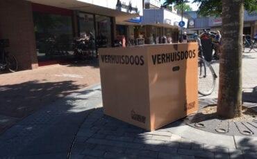 mysterie wat doen die verhuisdozen in Ermelo