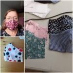 Desiree Loois maakt mondkapjes harderwijk mondkapje maken