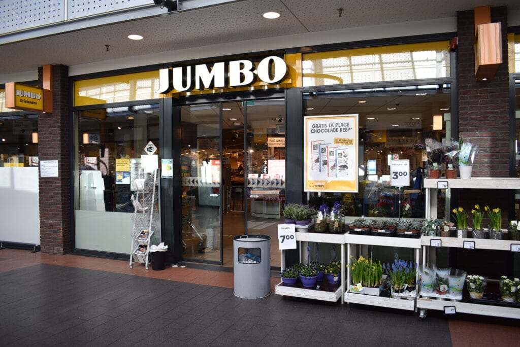 Jumbo Drielanden Pinksteren supermarkt Harderwijk Ermelo Putten