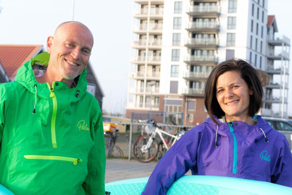 Marnix en Diane runnen nieuwe watersport in Harderwijk, suppen!