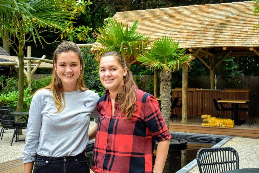Romy en Kristiana Lazy Tiger in Ermelo Thais restaurant Aziatisch