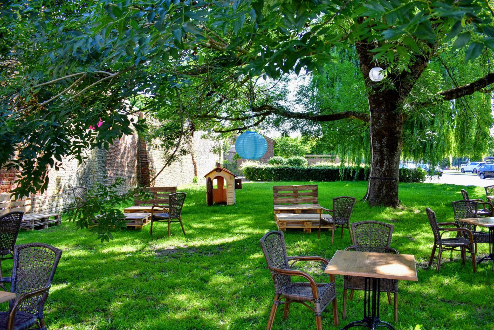 cafe de belofte verborgen terrasjes harderwijk