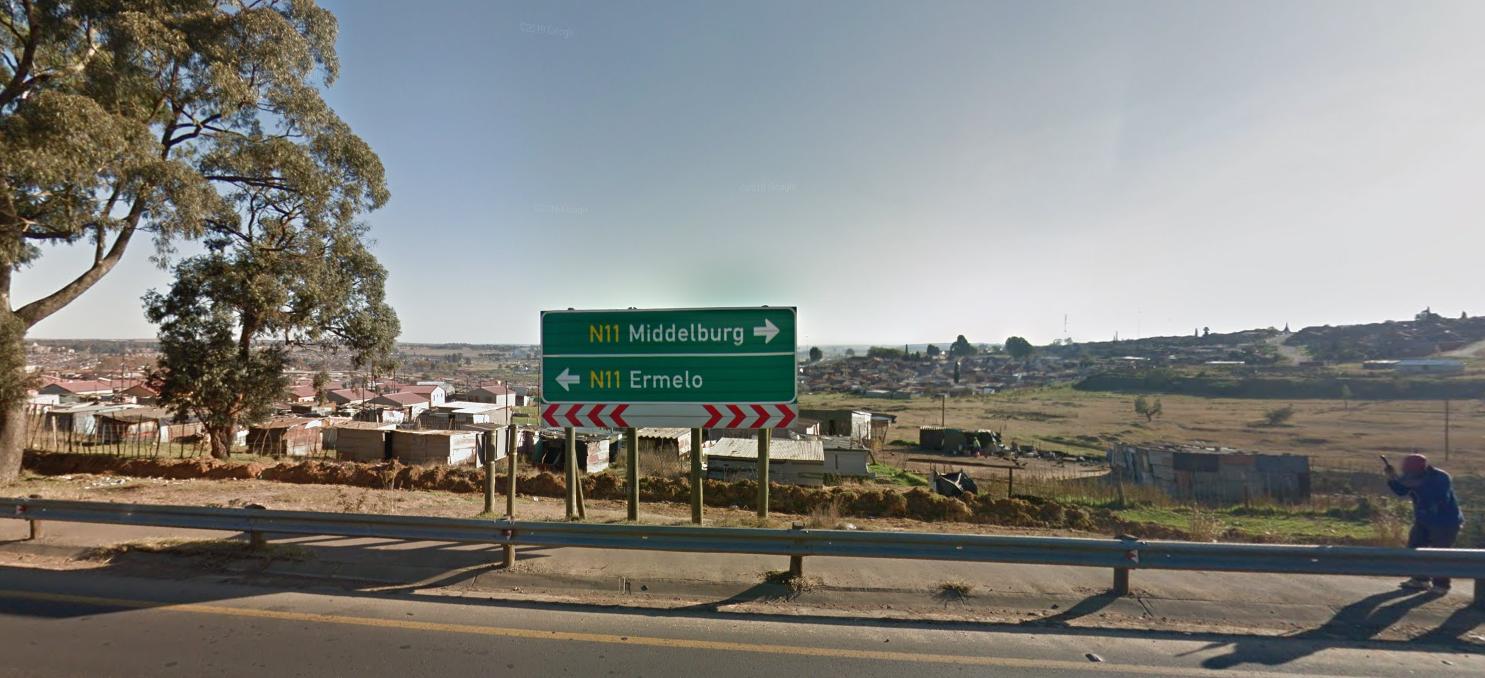 Ermelo in Zuid-Afrika