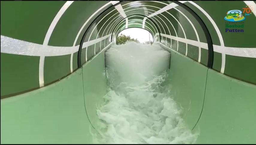 Wildwaterbaan in Bosbad Putten zwemmen