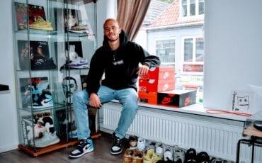 joost komijn schoenenverzamelaar schoenenverzameling harderwijk zeewolde schoenen