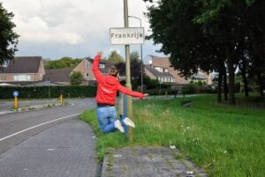 In Frankrijk, Harderwijk Nederland
