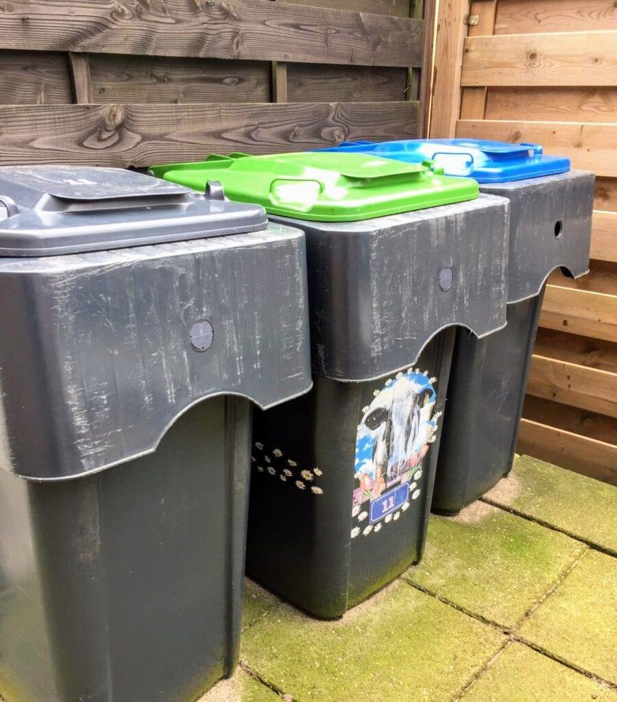 Container en kliko's in Harderwijk afvalinzameling afvaltarieven 2022