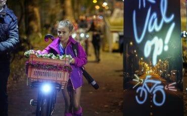 fietsverlichting harderwijk gratis fietslamp