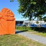 oranje voorwerp de sypel harderwijk