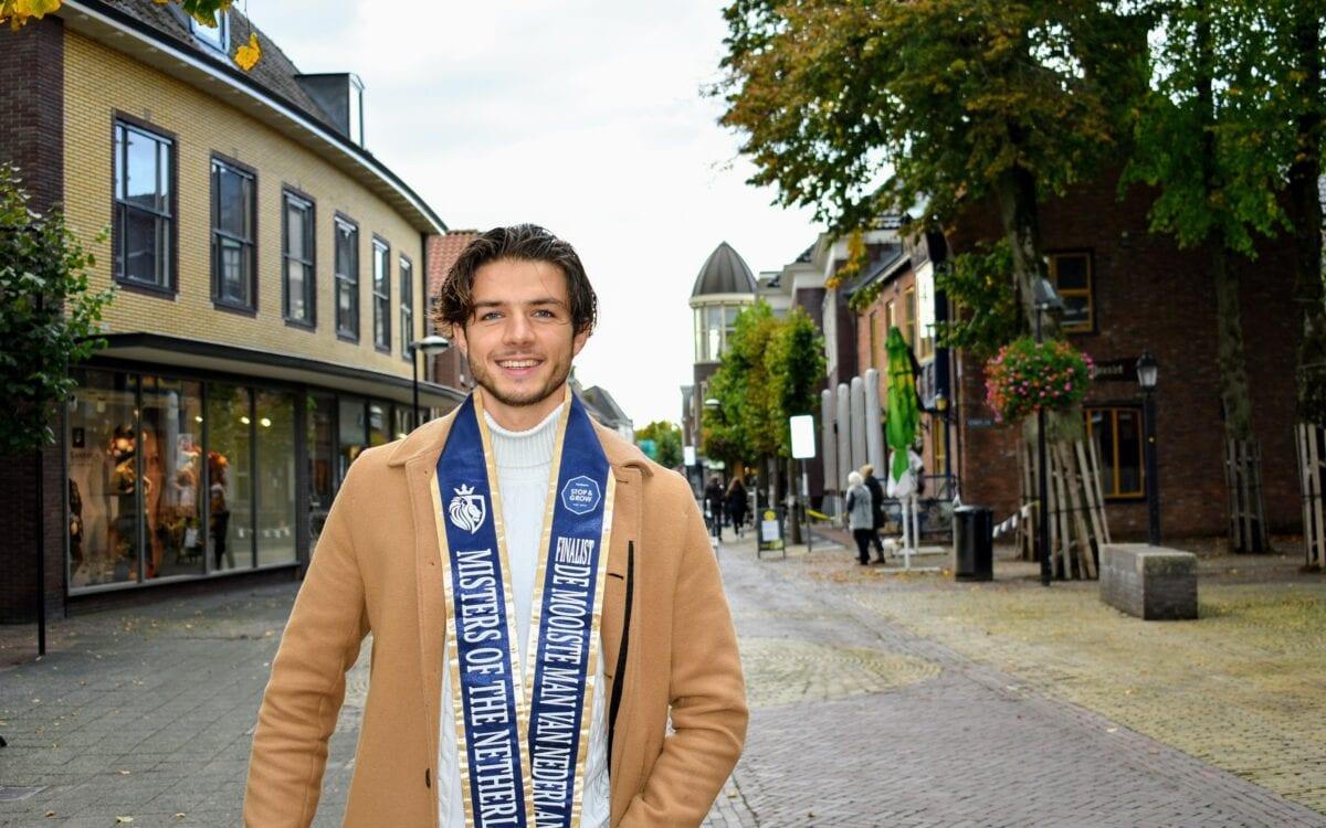 Tjardo Vollema is genomineerd voor Misters of the Netherlands. Putten mooiste man van nederland