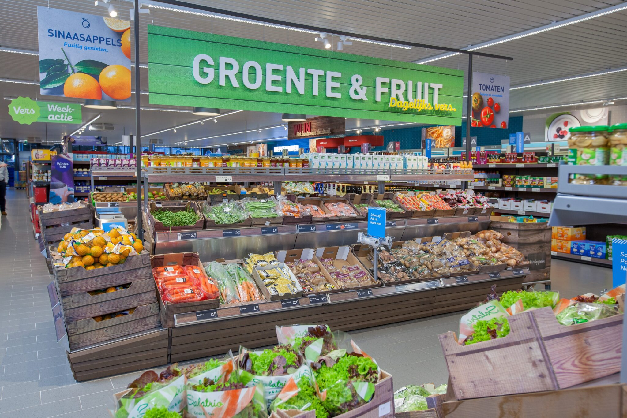 Aldi Harderwijk PC Hooftplein winkelcentrum supermarkt