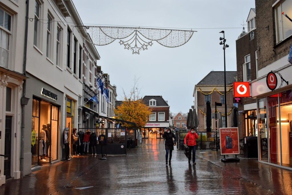 Binnenstad Harderwijk corona maatregelen november
