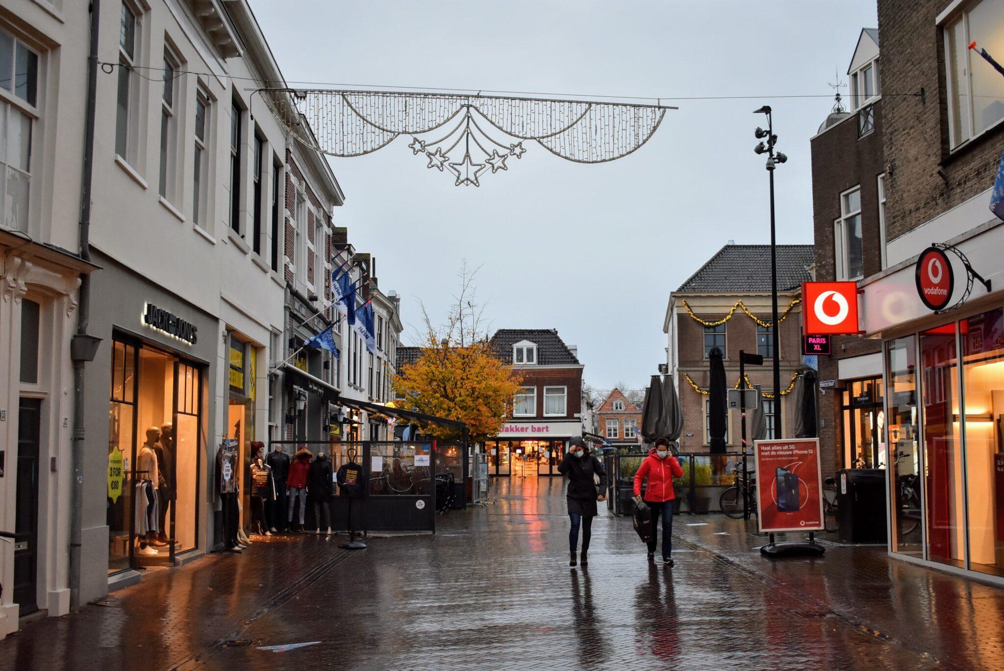 Binnenstad Harderwijk corona maatregelen november mondkapjesplicht