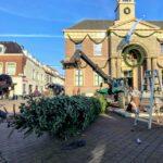 Kerstboom harderwijk markt binnenstad 2020