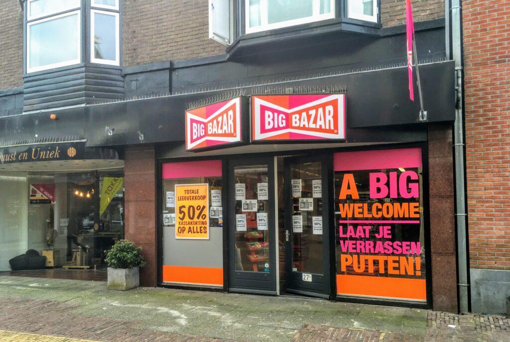 big bazar putten