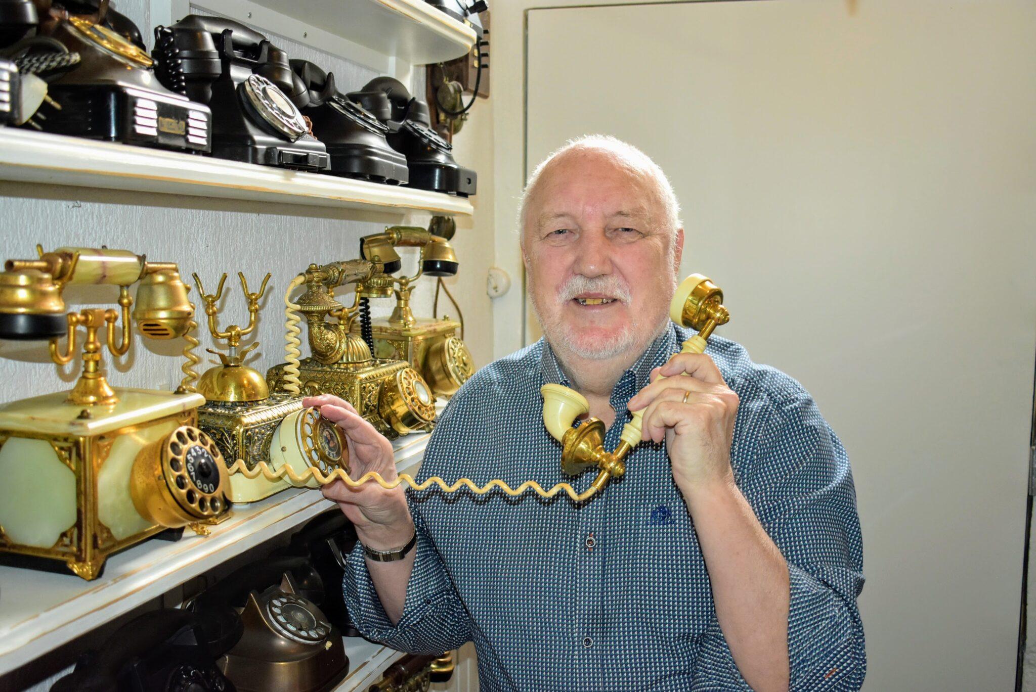 oude telefoons verzameling harderwijk bijzonder sparen beert smit