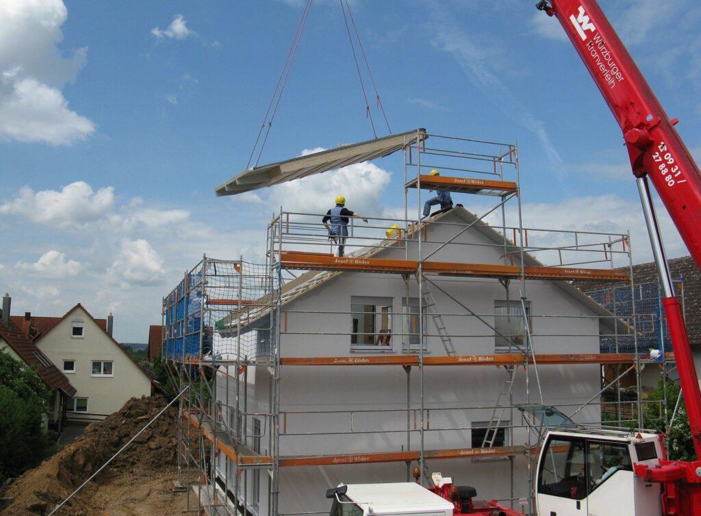 Nieuwbouw, woningen in putten
