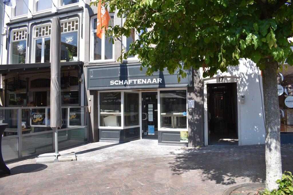 Juwelier Schaftenaar in Harderwijk is tijdelijk gesloten. F