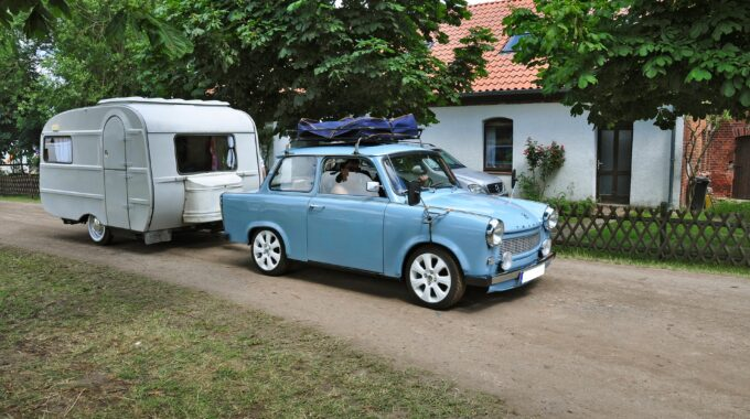 Hoe lang mag je je caravan in de straat in Harderwijk zetten?