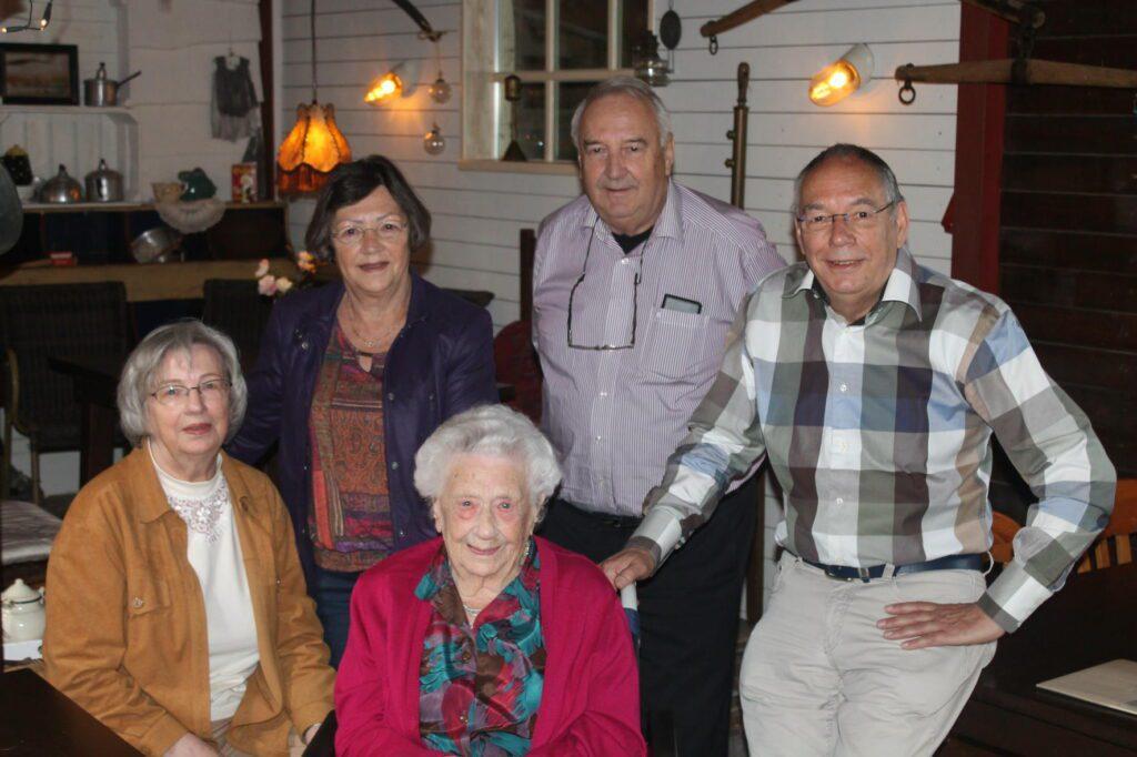 Mevrouw Sybrandi is de oudste inwoner van Gelderland Ermelo