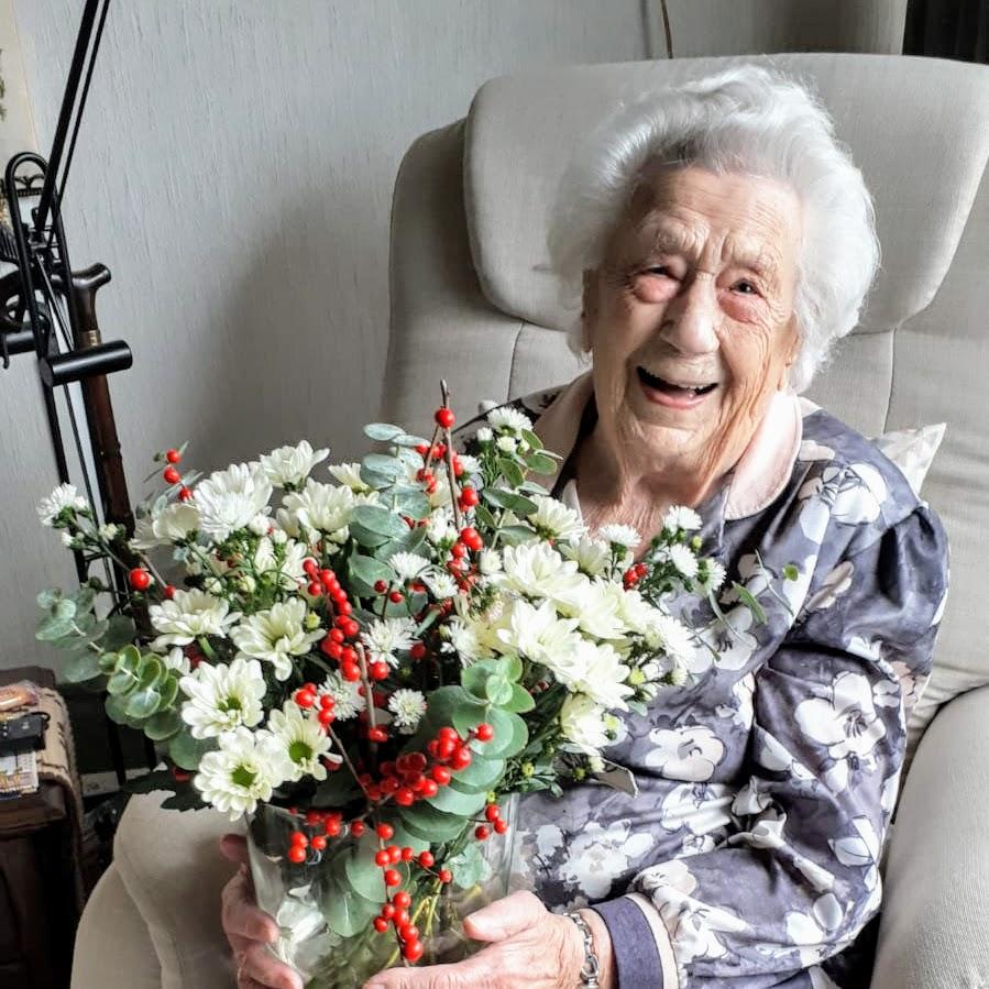 Ermelose mevrouw Sybrandi is de oudste inwoner van Gelderland Ermelo
