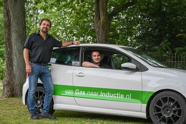 Rob en Arend van Van Gas naar Inductie